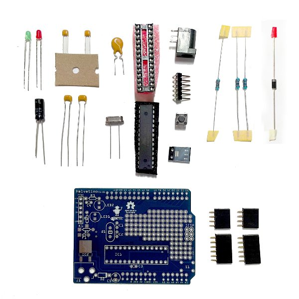 helvetino kit mikrokontroller arduino boards l t. Black Bedroom Furniture Sets. Home Design Ideas