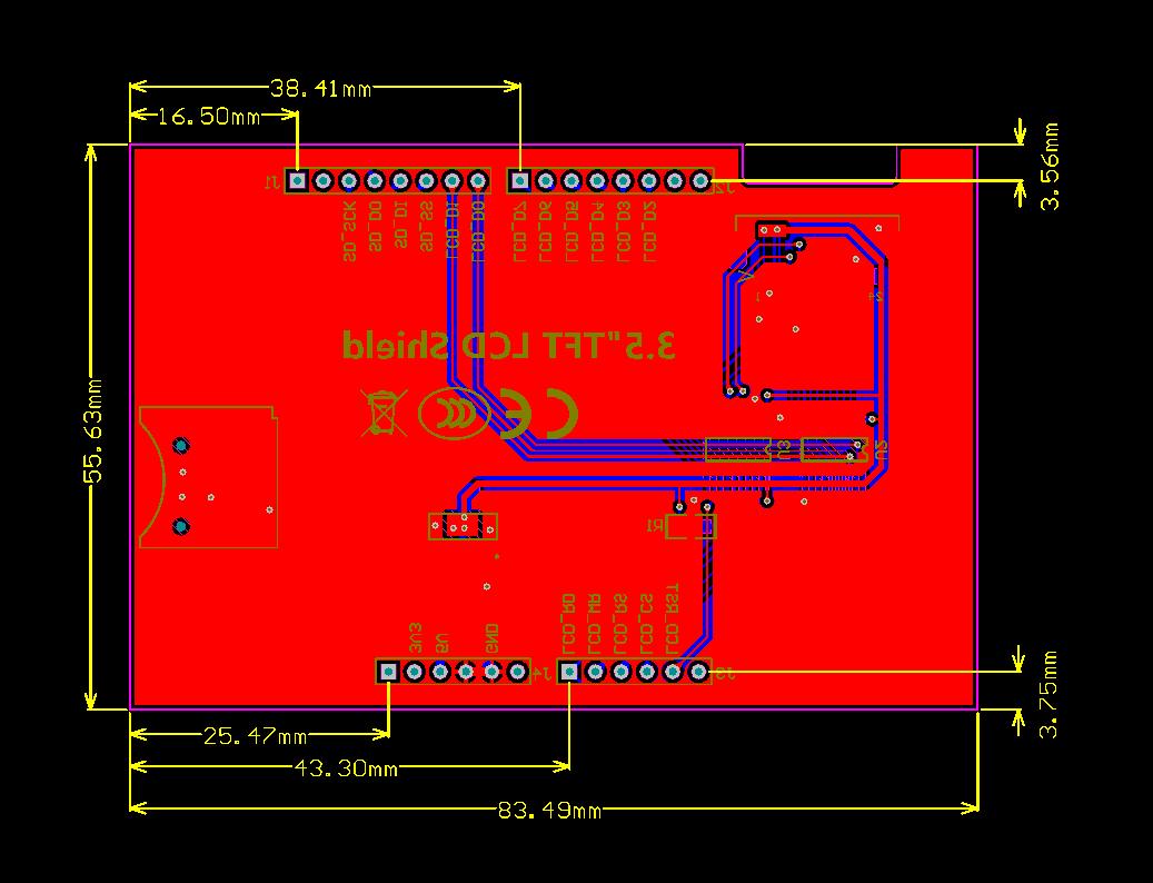 35 Tft Lcd Shield For Arduino Uno Mega Ili9481 Elektronik 7 Inch Circuit Diagram Dokumente